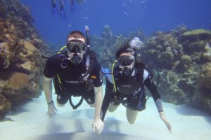 Diving in Roatan